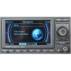 AUDI NAVIGATION RNS-E EUROPE SAT NAV MAP DISC 2018