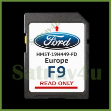 FORD F9 SYNC 2 Navigation SD Card MAP UK and Europe 2021 for Kuga, Edge, Focus, Galaxy, Mondeo, Ranger, S-Max, Tourneo, Transit