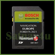Ford FX Navigation SD Card SAT NAV Latest MAP Europe & UK 2021 - 2022 for ( C-Max, Focus, Fusion, Galaxy, Mondeo, Kuga, S-Max, Transit )