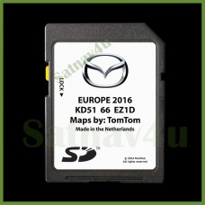 MAZDA NB1 CX-3, CX-9, 3, 6 Navigation SD Card  MAP UK and Europe 2016 - 2017 KD5166EZ1D