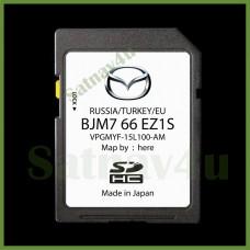 Mazda CONNECT SKYACTIV Navigation SD card Sat Nav Map Europe and UK 2020 - 2021