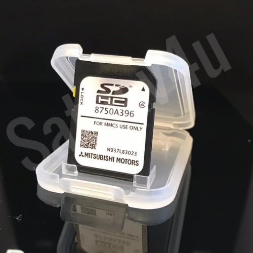 Mitsubishi MMCS SD CARD NAVIGATION SAT NAV MAP EUROPE 8750A396 2018 - 2019