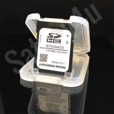 Mitsubishi MMCS SD CARD NAVIGATION SAT NAV MAP EUROPE 8750A450 2018 - 2019