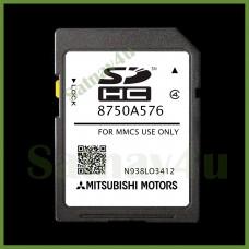 Mitsubishi MMCS Navigation SD Card for Outlander PHEV SAT NAV MAP EUROPE and UK 8750A576 2021