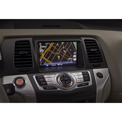 nissan xanavi x7 navigation sat nav map disc 2013. Black Bedroom Furniture Sets. Home Design Ideas