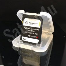 RENAULT Tom Tom CARMINAT NAVIGATION SD CARD EUROPE + UK MAP V 9.85 2018
