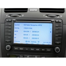 SKODA MFD2 DX NEXUS NAVIGATION MAP DISC 2014
