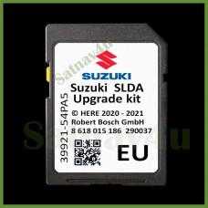 SUZUKI SLDA Navigation SD Card Map Update Europe and UK 2020 - 2021