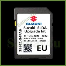 SUZUKI SLDA Navigation SD Card Map Update Europe and UK 2021 - 2022