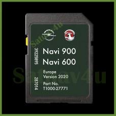 VAUXHALL , OPEL, CHEVROLET NAVIGATION SD CARD MAP EUROPE NAVI 900/600 2020 - 2021