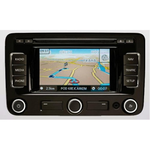 volkswagen fx rns310 navigation sat nav map disc 2013. Black Bedroom Furniture Sets. Home Design Ideas