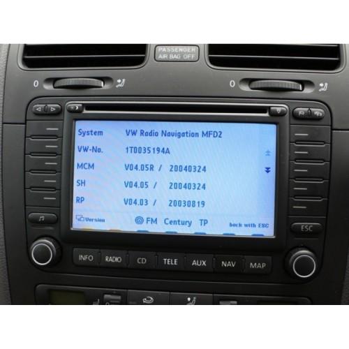 VOLKSWAGEN VW MFD2 / RN-S2 V15 Blaupunkt TravelPilot EX-V